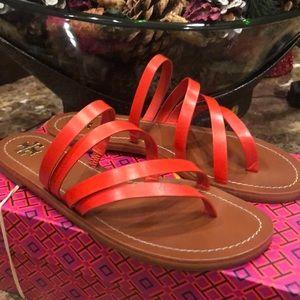 Tory a Burch Paris flat sandals